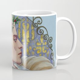 Woodland King in Winter Coffee Mug