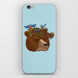 Mr Bear's Nature Hat 2017 iPhone Skin