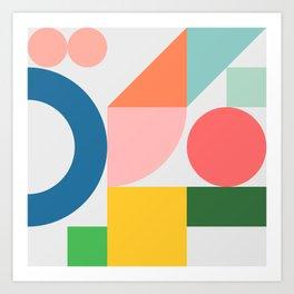 Playpark 03 Art Print
