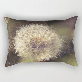 Bubbling Flower Rectangular Pillow