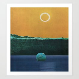 The Drowned World Art Print