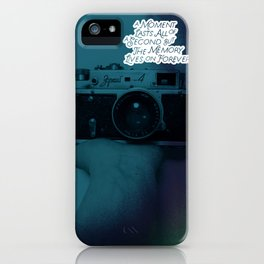 about moment iPhone Case
