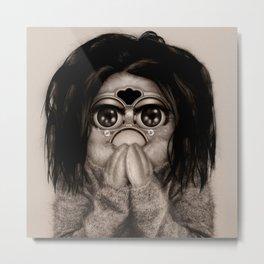 Furby Björk - Debut Metal Print