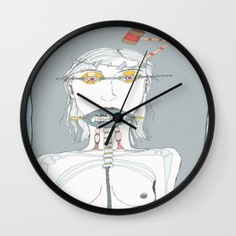 Migraines Wall Clock