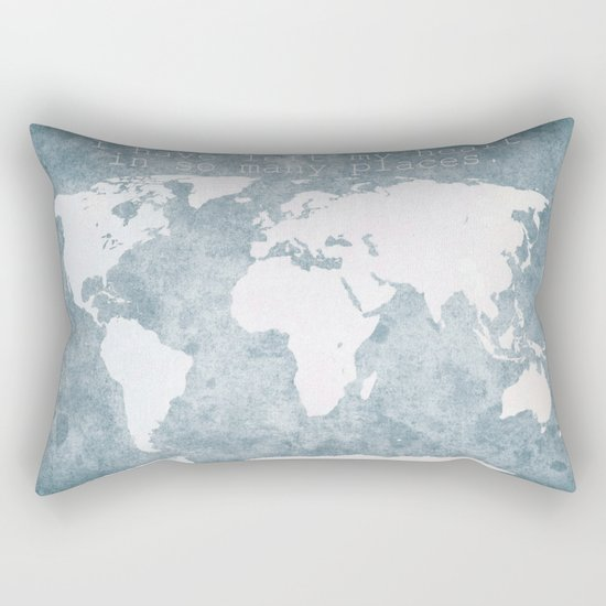 World Rectangular Pillow