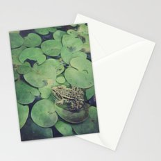all green Stationery Cards