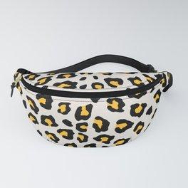 Leopard Print - Mustard Yellow Fanny Pack