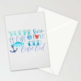 You're Sure to Fall in Love with Old Cape Cod Stationery Cards