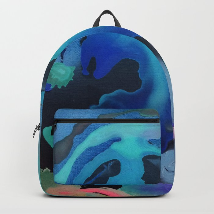Swim with the Mermaids in the Great Natural Deep Blue Sea Backpack