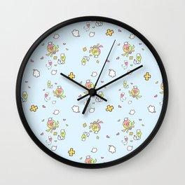 Sky Sherbet Wall Clock