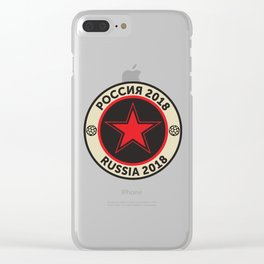 Russia 2018 Clear iPhone Case