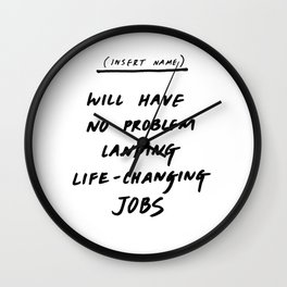 (INSERT NAME) Wall Clock