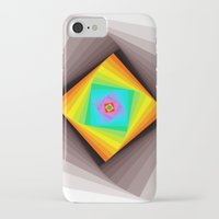 quilt iPhone & iPod Cases featuring Digital Quilt by Take F1ve