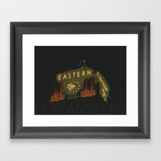 Eastern Columbia Building Los Angeles, California Framed Art Print