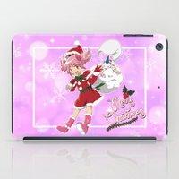 madoka iPad Cases featuring Merry Christmas Madoka Kaname by Neo Crystal Tokyo