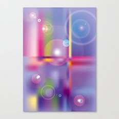 Frosted Glass  Canvas Print