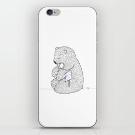 Rag Doll Teddy iPhone Skin