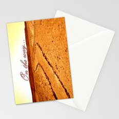 on the way Stationery Cards