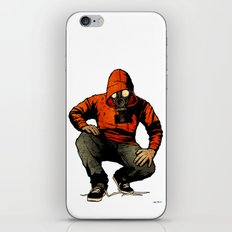 Trouble May Rise iPhone & iPod Skin