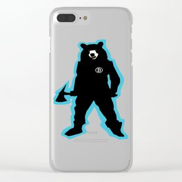 Killer Bear Clear iPhone Case