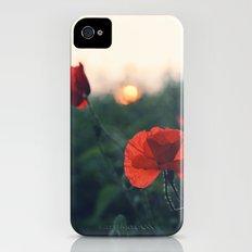 Poppy Slim Case iPhone (4, 4s)