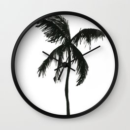 The palm tree Wall Clock