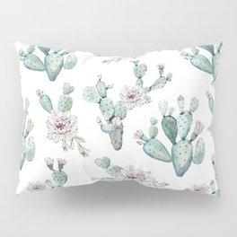 Cactus Pretty Pink + Green Pillow Sham