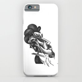 Mysterious Human Plant's iPhone Case