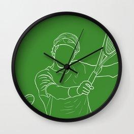 Federer (Clean) Wall Clock