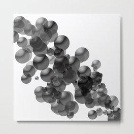 Bubbles 1 Metal Print
