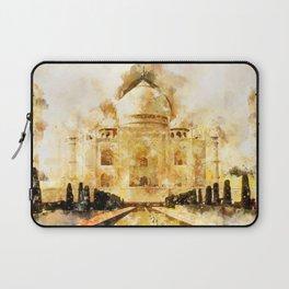 Taj Mahal Painting Laptop Sleeve