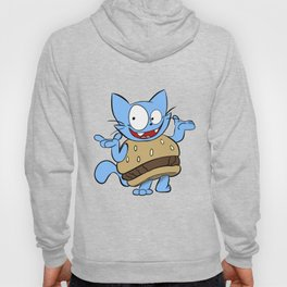 Hamburger Cat Hoody