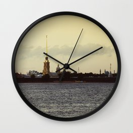 The Peter and Paul Cathedral Wall Clock