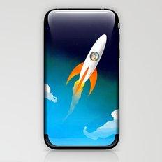 Rocket to the stars! iPhone & iPod Skin