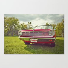 Ready for a ride! Canvas Print
