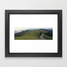 Over and Under Framed Art Print