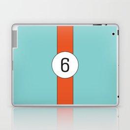 racing stripe .. #6 Laptop & iPad Skin