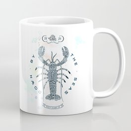 Lobster - Salt Club 76 - Down by the Sea Coffee Mug