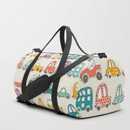 retro rides eggshell Duffle Bag