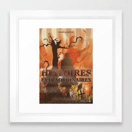 Histoires Extraordinaires Framed Art Print