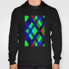 Checkered Colour - Geometric, Colour, Checkered Pattern Hoody
