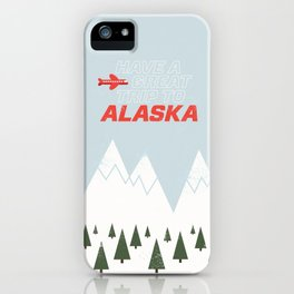 Alaska Trip iPhone Case