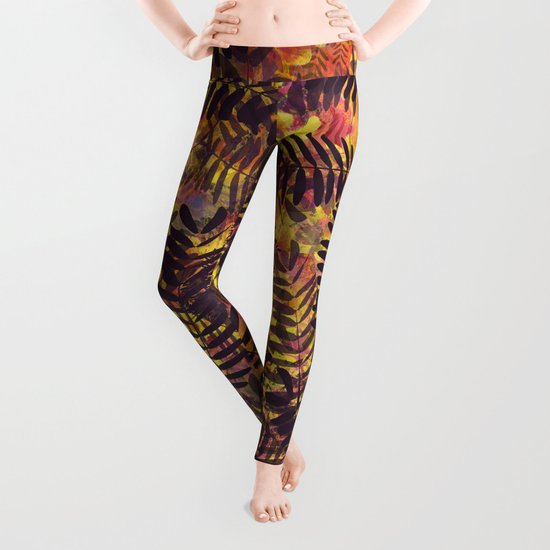 Tropical Abstract Leggings