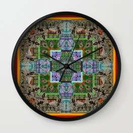 Mielo-Egypto Mandala Wall Clock