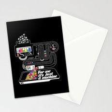 It's just a machine Stationery Cards
