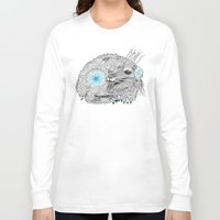 the thing Long Sleeve T-shirts featuring Thing. by Bläckbeärd