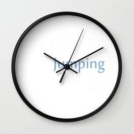 Jumping Rope  Design Wall Clock