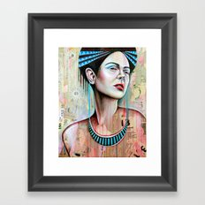 Beauty of Despair Framed Art Print