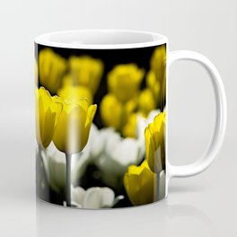 Tulips Yellow And White Coffee Mug