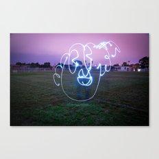Bloopy W/JMR1 Canvas Print